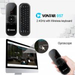 Premium VONTAR 057 2.4GHz Gyro Sensing Air Mouse for Windows Android TV Box